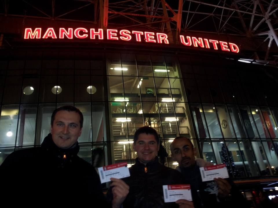 Attending Manchester United vs Everton